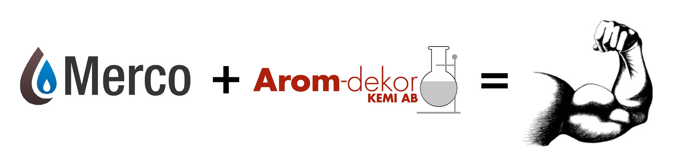 Arom-dekor Kemi AB acquired 80% of the shares in Norwegian company Merco AS