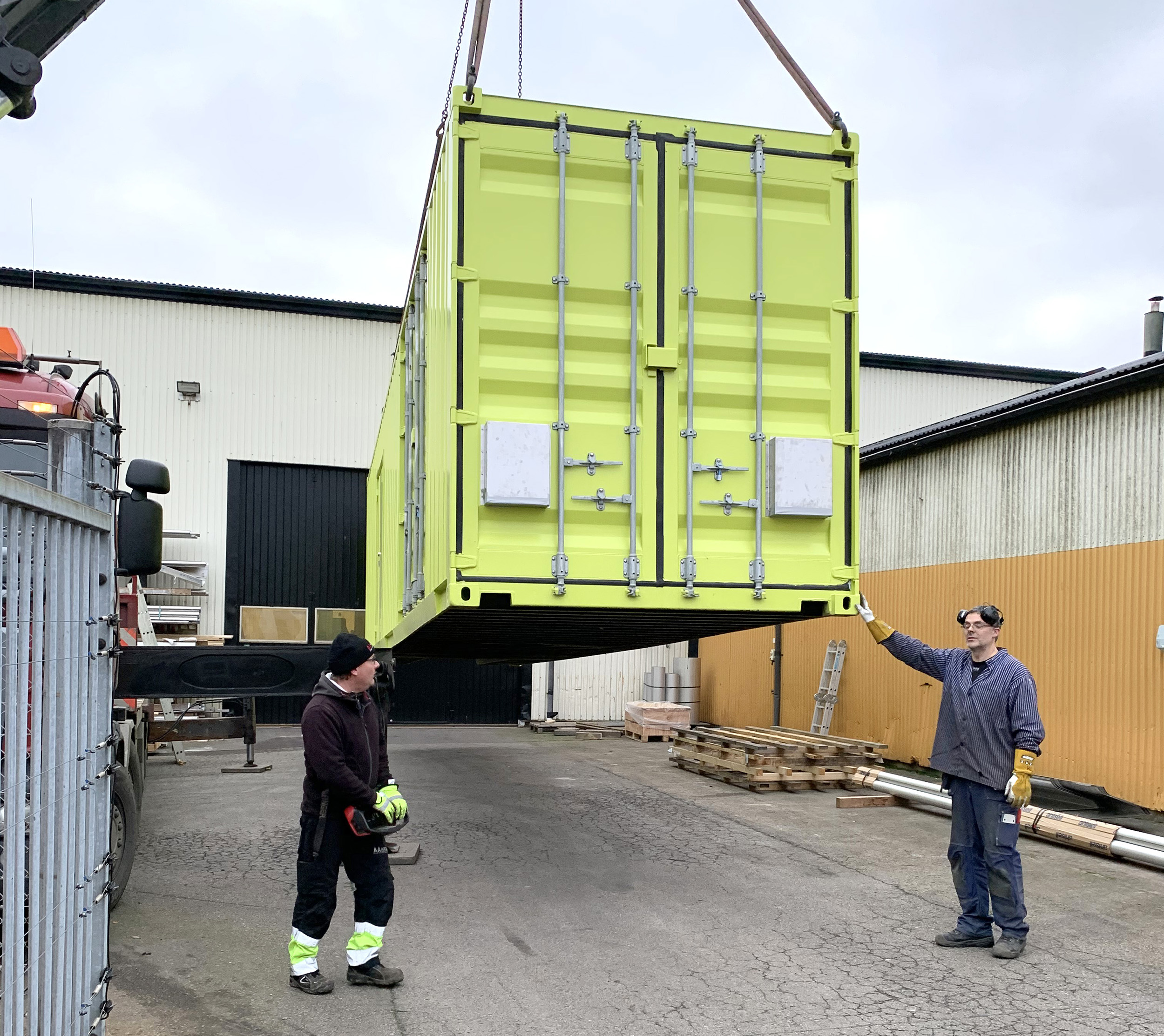 First of two plants delivered to Cleveland Hopkins International Airport in Cleveland, Ohio, USA from Vilokan ADF Solutions
